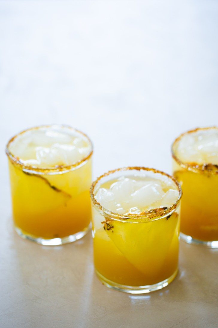 pineapple margarita mocktail