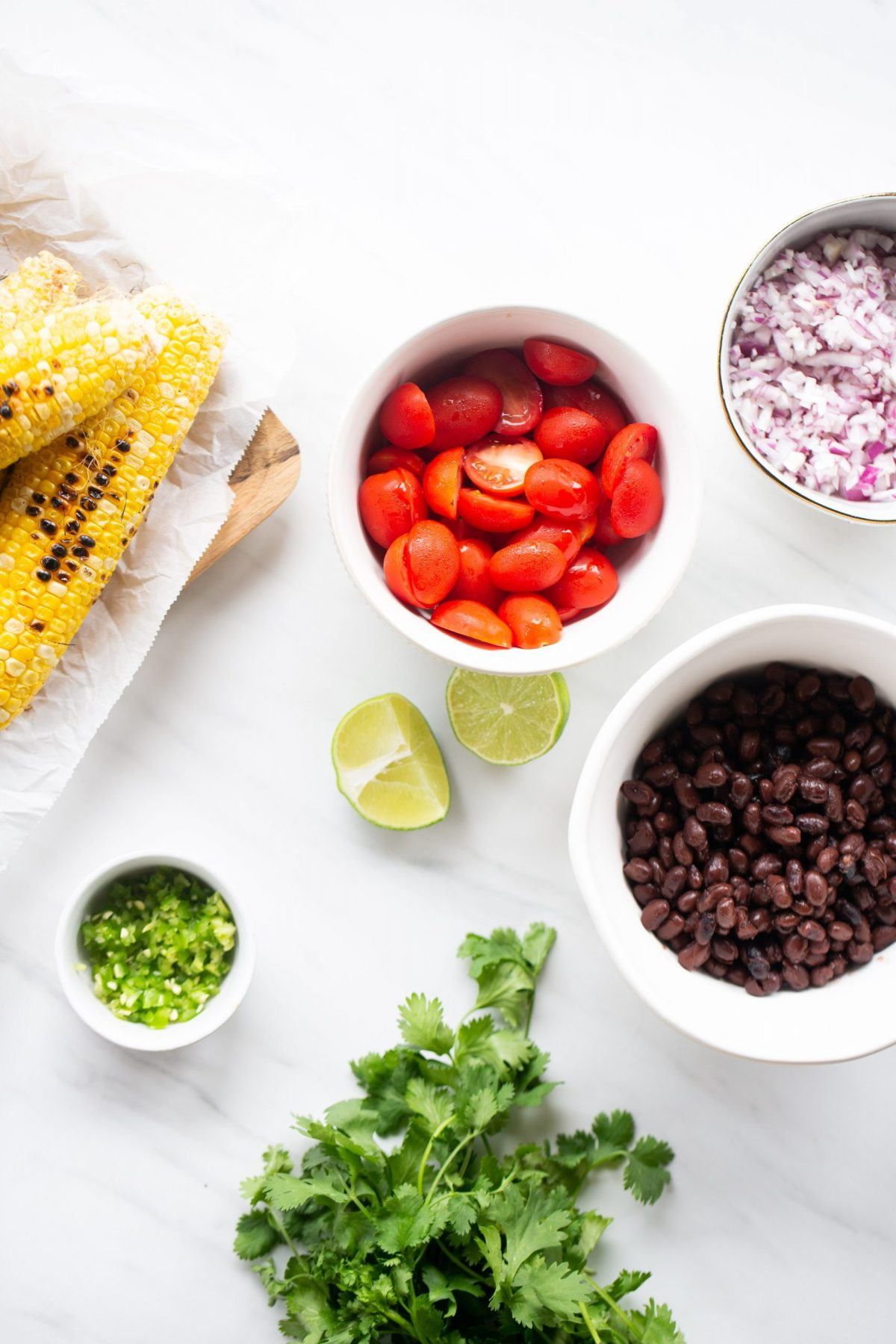 ingredientes for pico de gallo