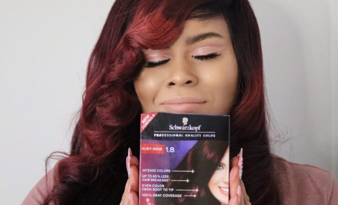 Holiday Glam Hair With Schwarzkopf Keratin Color At Target
