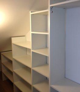 cabina armadio bianco opaco