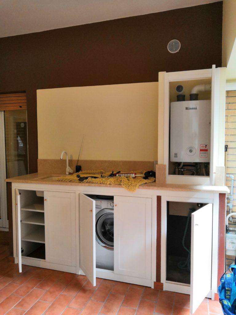 Telai con sportelli per cucina in muratura - Sportelli cucina muratura ...