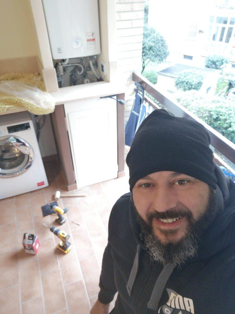 telai con sportelli per cucina in muratura