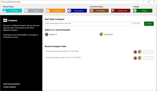 Browser Compare