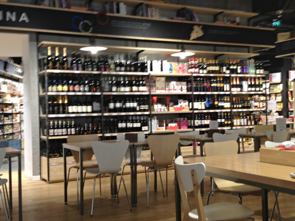 Places to Eat in Rome, Italy - RED Feltrinelli - Restaurant