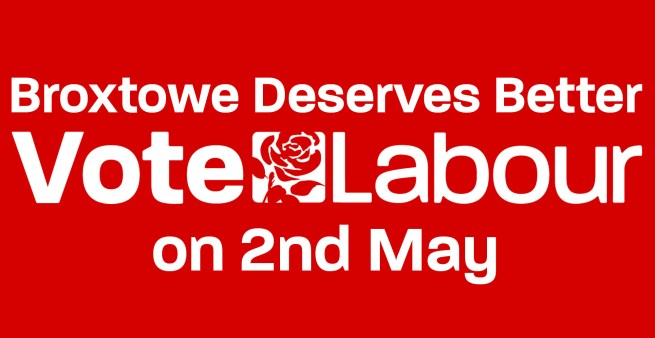 Vote Labour 2nd May