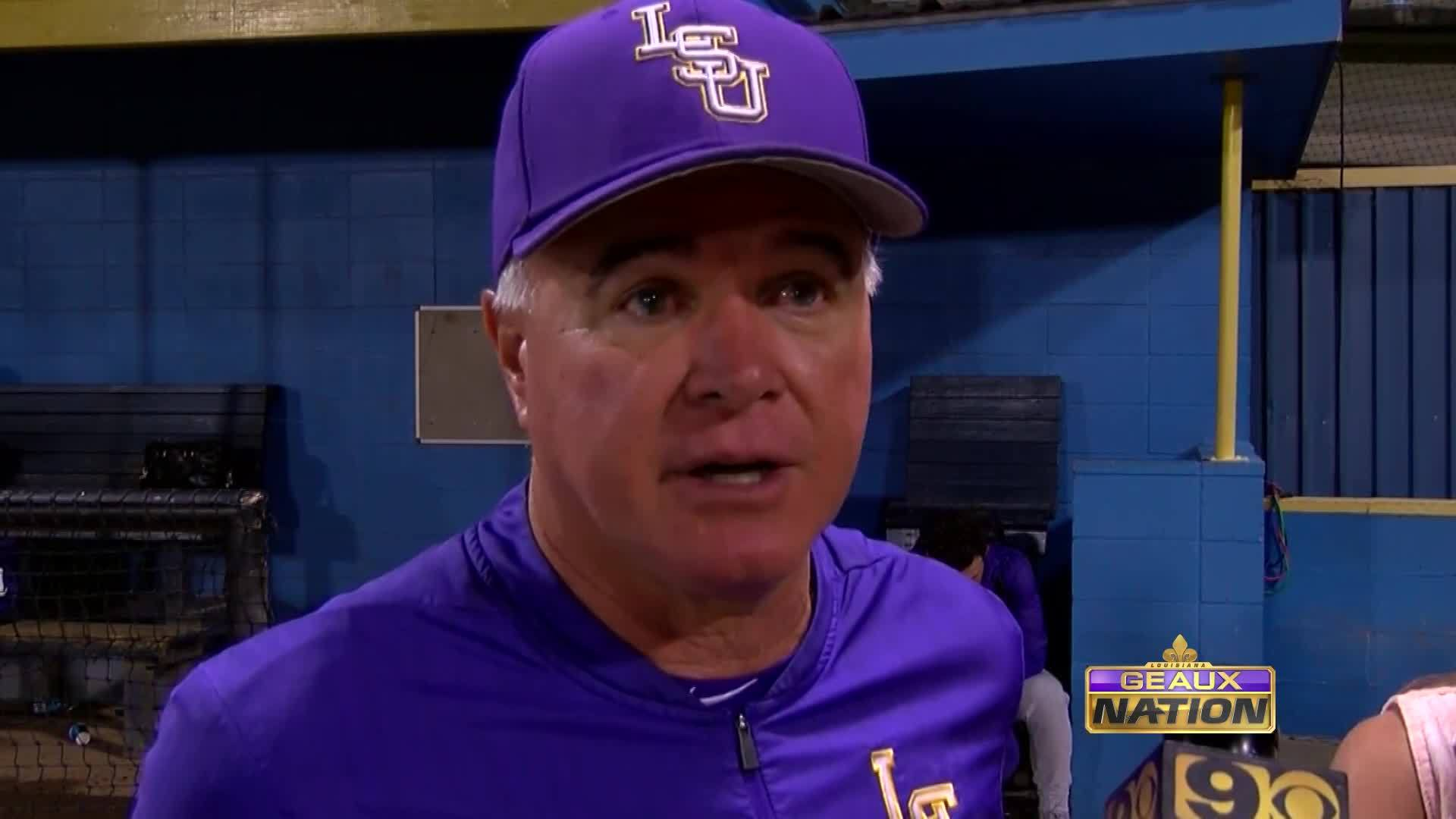 Paul Mainieri Talks About LSU Baseball Loss vs Southern