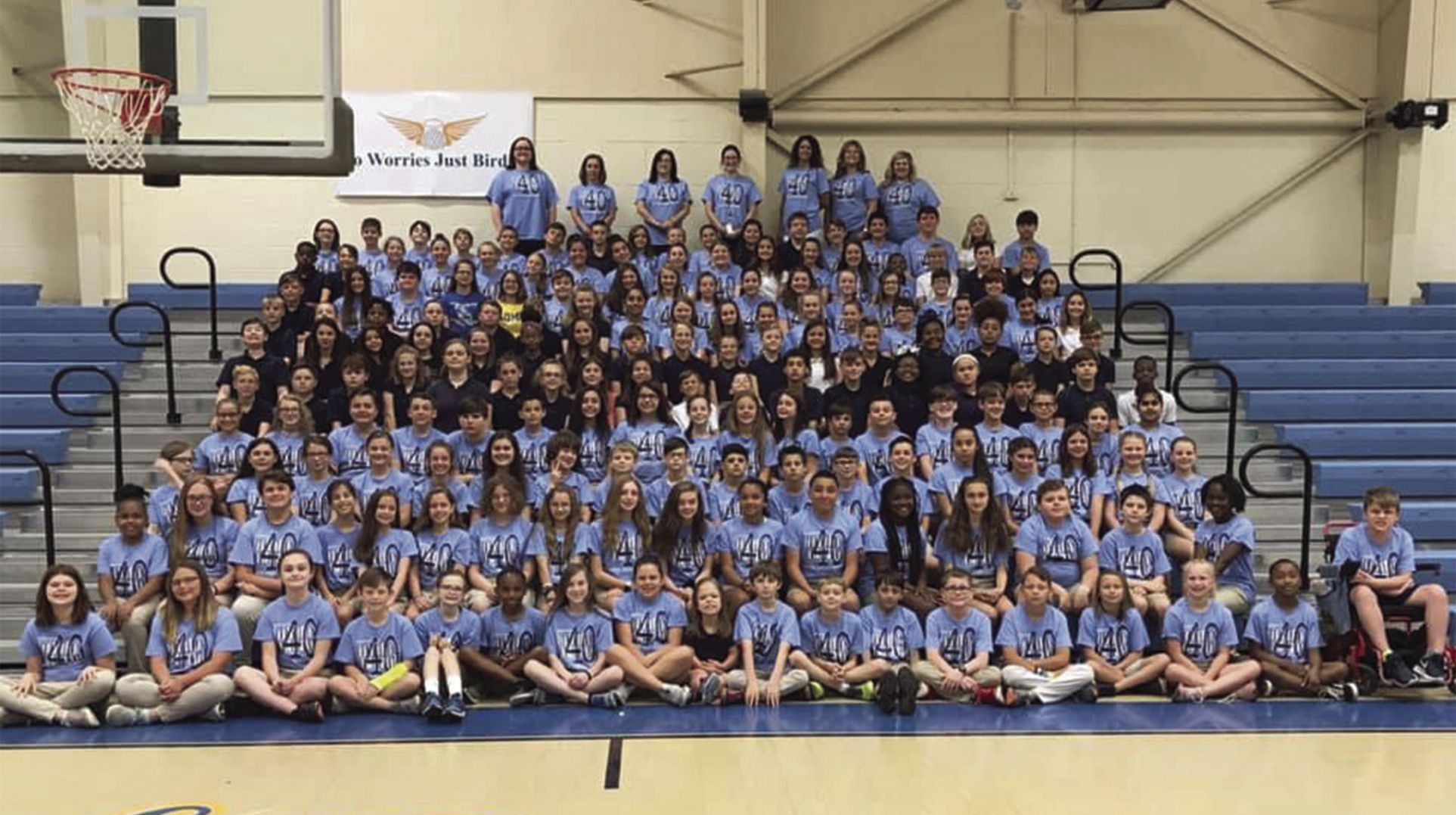 Live Oak Middle students, teachers recognized for completing 40-book challenge_1559590494383.jpg.jpg