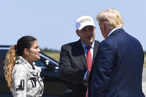 Donald Trump, Diana Zeldin, Lee Zeldin