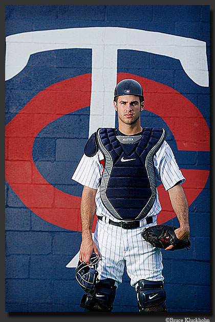 Joe Mauer - The Bionic Catcher