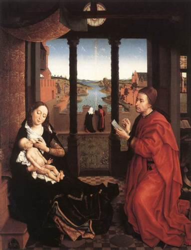 Rogier van der Weyden and Hans Memling compared