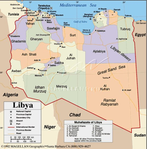 The disparate elements that make up Libya