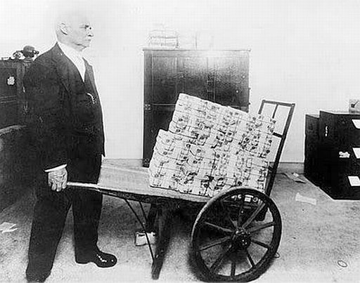 Hyperinflation in action