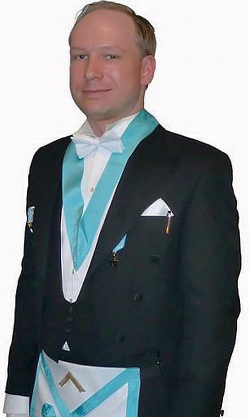 Anders Behring Breivik, a freemason terrorist • Bruce On