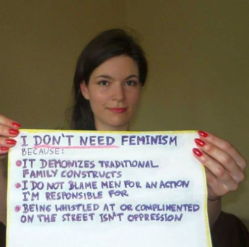 Feminism is an utter joke