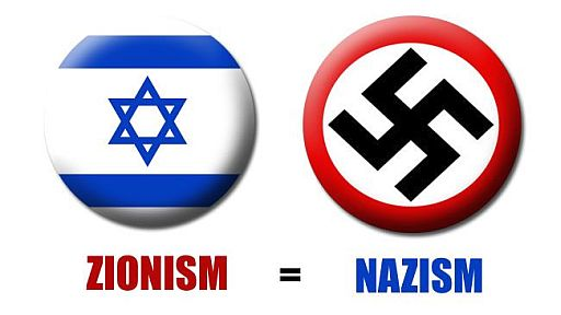 Can Zionism be compared to Nazism?