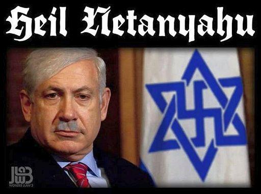 Zionism = Nazism, internet memes