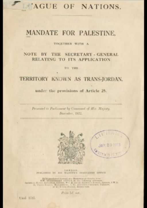 Palestine mandate 512