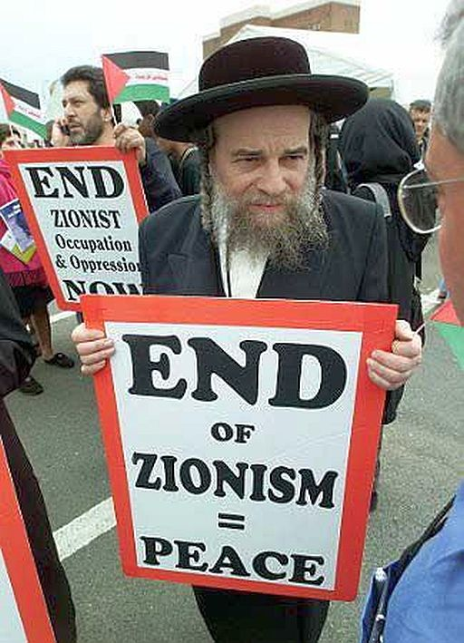 Israel end of zionism = peace 512