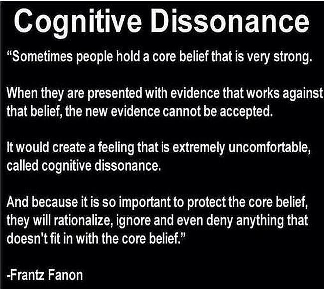 Cognitive Dissonance. 650