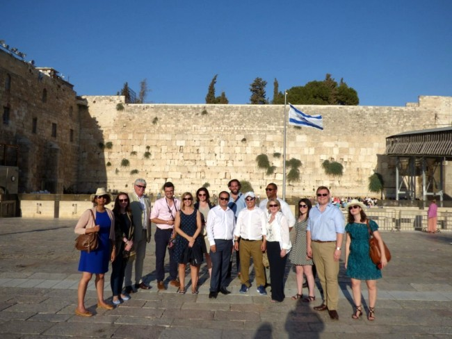 Conservative MPs on CFI jolly in Israel