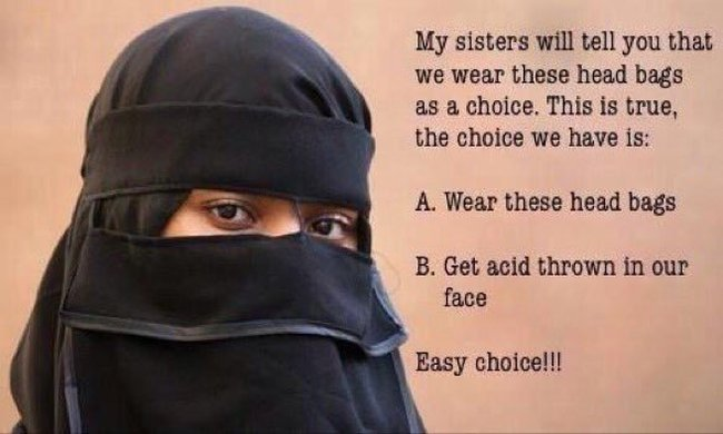 Islam Burqa #3 650