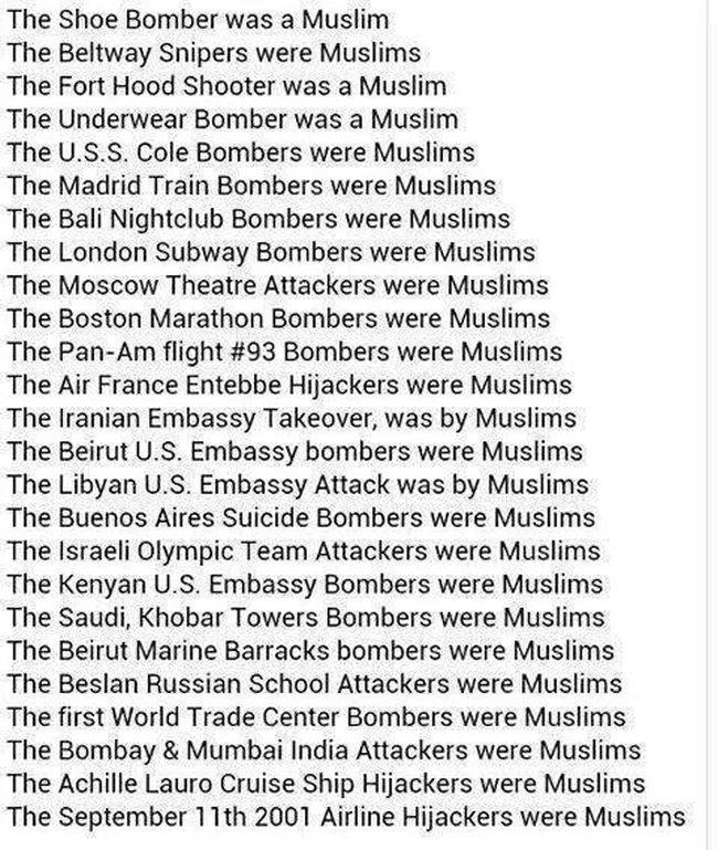 Islam list of atrocities 650