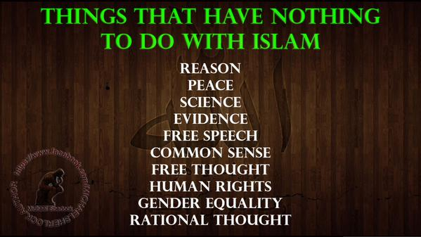 Islam. Nothing to do with