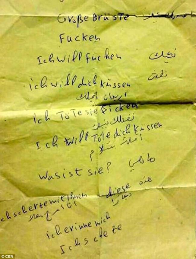 Cologne note I want sex I will kill 650