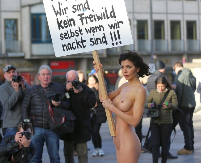 Cologne protest 650