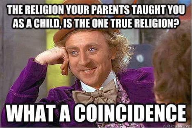 Religion coincidence