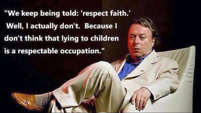 Religion. Respect faith.