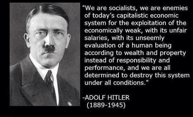 It is irrefutable: Hitler was a socialist