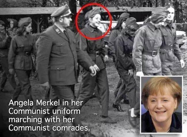 Merkel Communist 650
