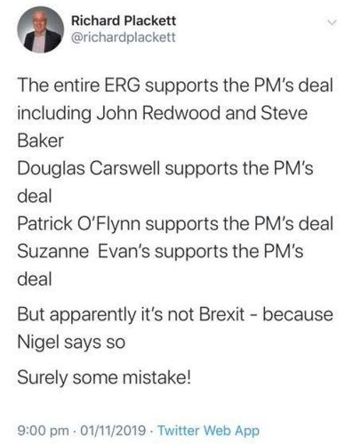Farage is Wrong. The Boris EU Deal is Good