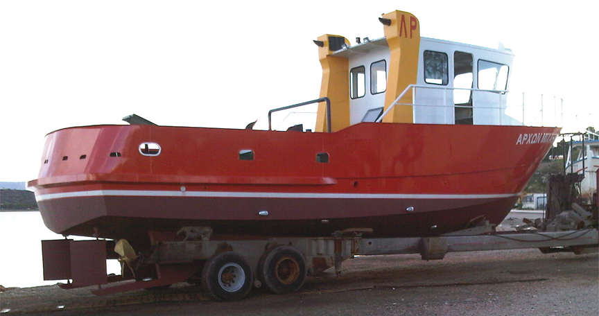 12 METER STEEL KITS POWER BOATS Boat Building