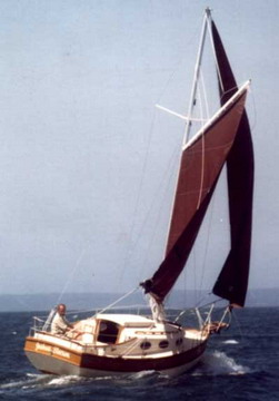 wood sailboat plans