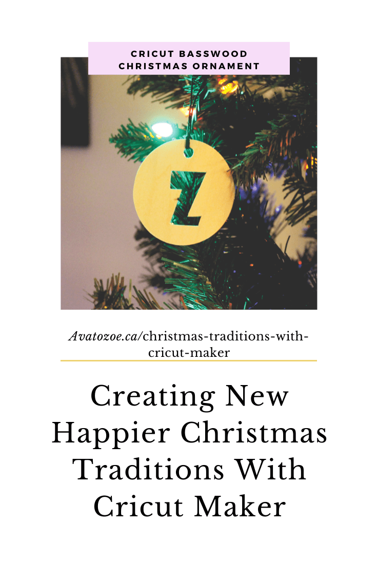 Christmas Traditions With Cricut Maker