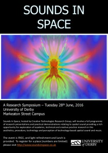 Sounds in Space 2016 Poster