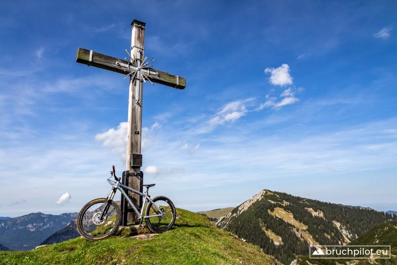 Unser heutiger Gipfel: Hoher Ziegspitz
