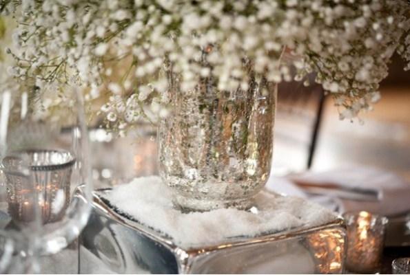 Bryllupsbord i sølv