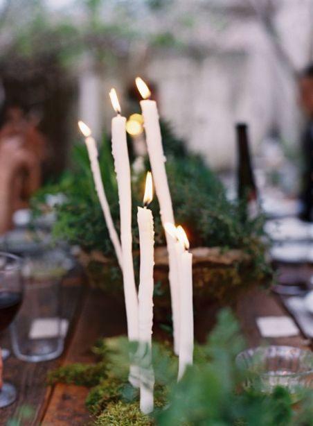 rustikke-sterinlys-bryllup