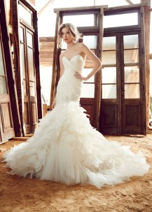 lazaro-bridal-silk-organza-fit-flare-strapless-sweetheart-pleated-jeweled-asymmetrical-boa-tulle-chapel-3559_zm