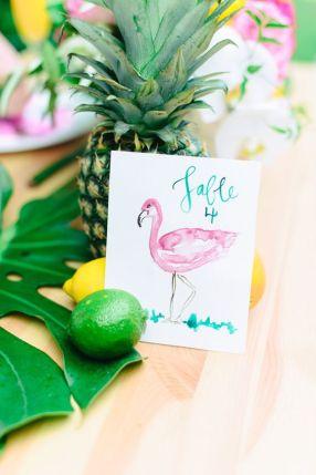 flamingo-bryllup-tema