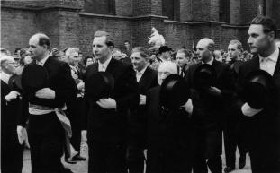 1958 Josef Dahmen, Hermann-Josef Bröker, Robert Pappers, Bernhard Schlagheck, Heinz Peggen, Karl-Heinz Baltes, Günther Pajor, Hein Knippertz