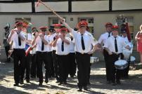 2012 Trommlerkorps Lindern bei der Parade