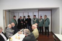 Verleihung des Silbernen Verdienstkreuz an Thorsten Grabowski (3.v.l.), Markus Welters (5.v.l.) und Dr. Daniel Hürter (6.v.l.)