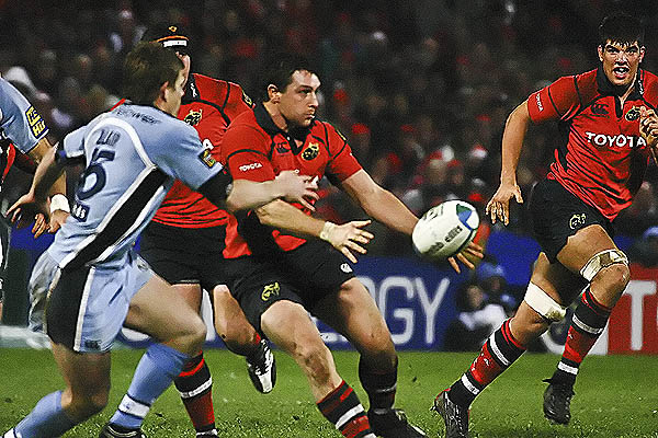 Richard Wallace & Donncha O' Callaghan Take it on Against Cardiff blues