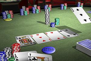 Texas Hold'em 5 Card Stud Poker.