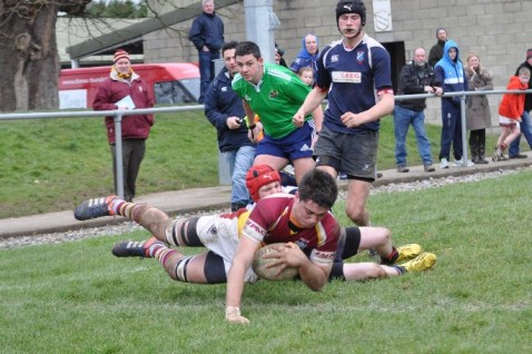 Dylan in action for Bruff U18's
