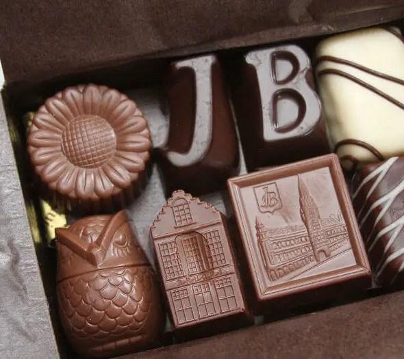 chocolatier Jeff de Bruges